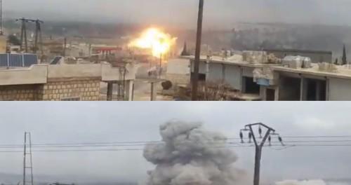 Россия равняет с Землей террористов в Сирии
