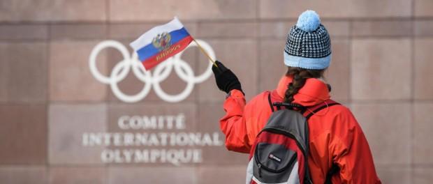 Россия топчет МОК и WADA