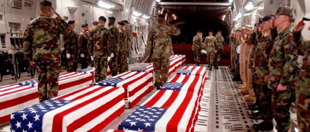 Гробы с американскими солдатами отправились из Гуты домой