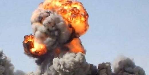 В Сирии уничтожили террористов вакуумной бомбой
