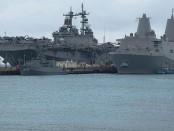 Военные корабли США в Сирии