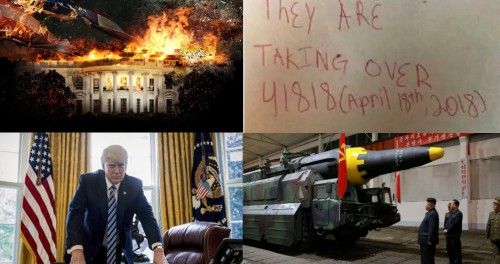 18 апреля в городе царя Америки будет взорвана ядерная бомба