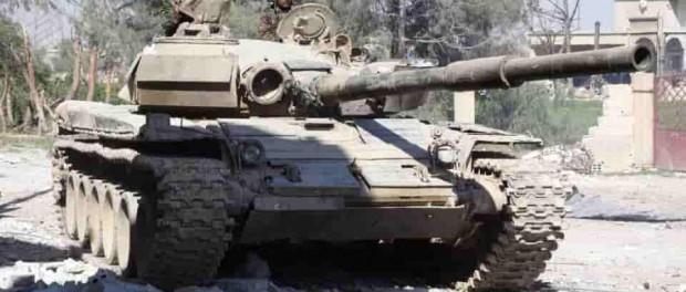Сирийская армия разнесла боевиков в Восточной Гуте