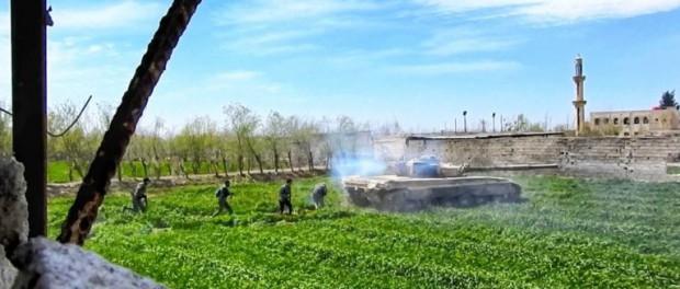Сирийская армия захватывает 70% Восточной Гуты