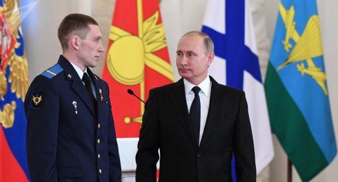 Путин рассказал героизме русских солдат в Сирии