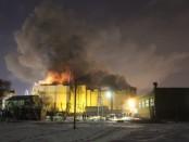 Пожар Зимняя вишня поджог