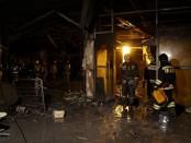 Пожар в Кемерево