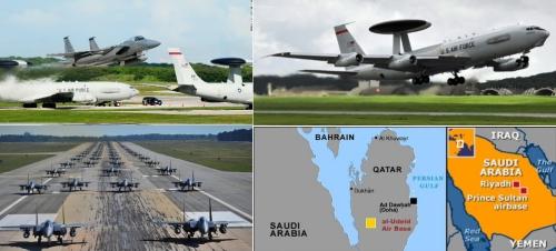 США срочно эвакуируют базы ВВС на Ближнем Востоке