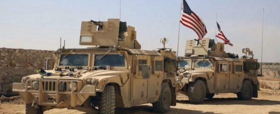 США создают военную базу богатой нефтью в районе Дейр-эз-Зор