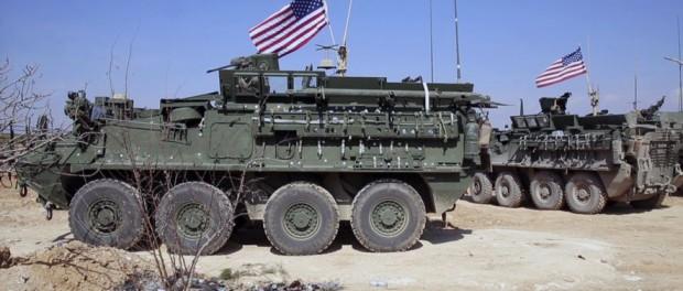 Силы США отказываются покидать Мандбиж в Сирии