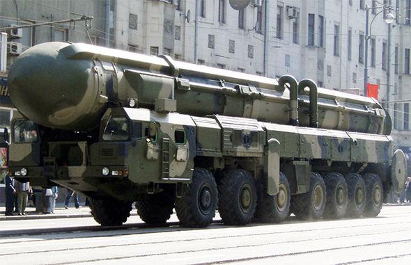 Тополь М ракета