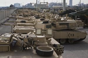 танки в Кувейте