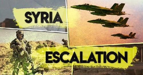 Русские самолеты в Сирии кружат постоянно в воздухе, ожидая атаки Трампа