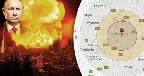 Россия опустошит Лондон с одного ядерного удара