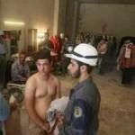 Постановочные фото химатак в Сирии