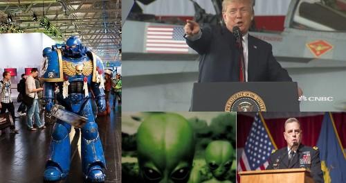 Пентагон собрался воевать с инопланетянами?
