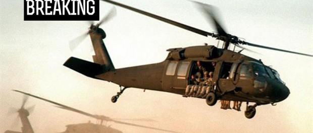 Боевики в Сирии сбили американский вертолет