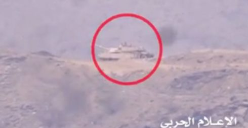 Боевой танк Абрамс M1A2 разорвало снарядом РПГ-7