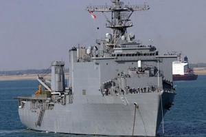 USS Oak Hill LSD-51 корабли США в Сирии