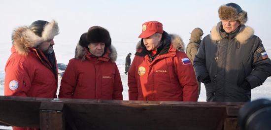 Что делали Путин, Медведев, Шойгу в Арктике