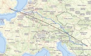 Военная карта Европы