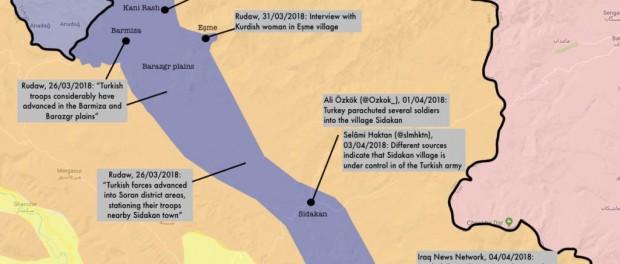 Турция начала наступление на базы США и Франции в Ираке