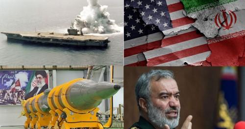 Иран будет топить американские корабли