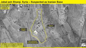 Военная карта атаки Израиля в Сирии