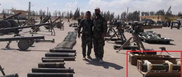 Сирия захватила большой склад боеприпасов