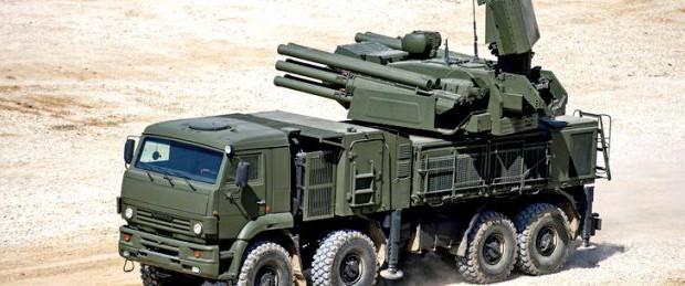 Панцирь С1 в ракетном ударе в Сирии из 50 ракет сбил 44