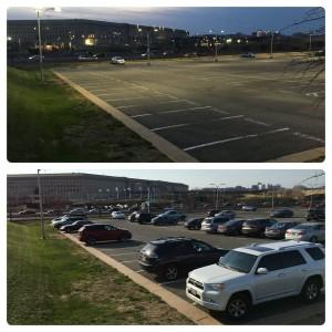 Парковка возле Пентагона