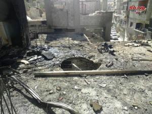 После обстрела Джейс аль-Ислам, SANA