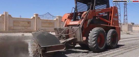 Сирия восстанавливает город Дейр-ээ-Зор