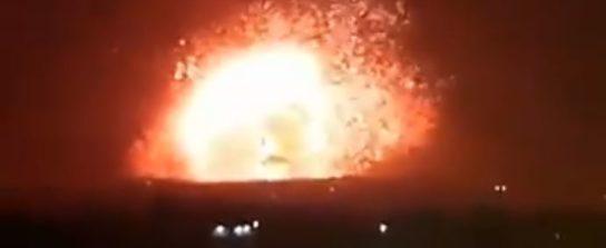 Израиль напал на сирийскую армию в Хане и Алеппо