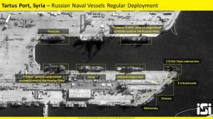 Спутниковые снимки базы Тартус Сирия