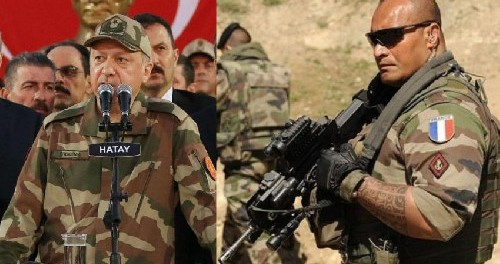 Турция в бешенстве: Макрон перекинул в войска в Сирию