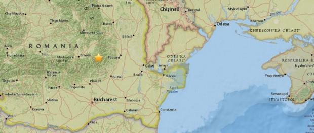 Землетрясение в Румынии разрушит Украину