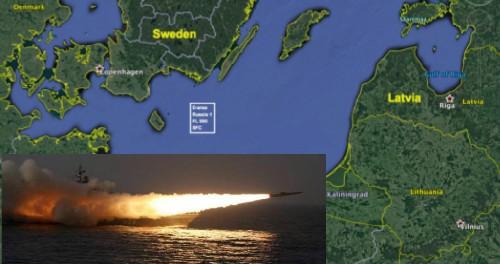 Россия проводит учения в 2 милях от Швеции