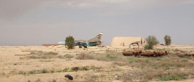 Фотографии Авиабазы Т4 после обстрела Израиля