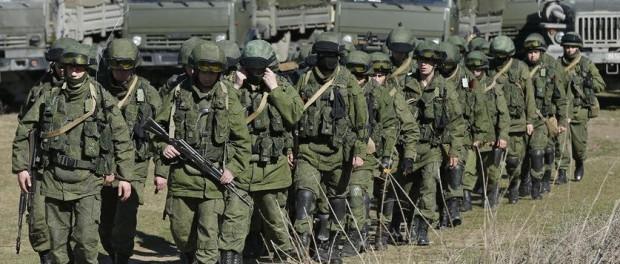 В России наблюдается тотальное перемещение войск