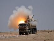 Панцирь С1 в Сирии