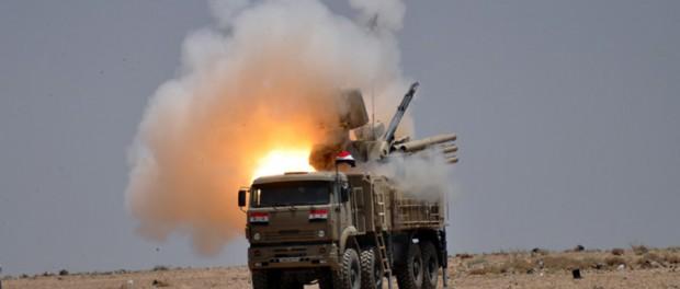 112 ракет ПВО Сирии остановили авиаудар США