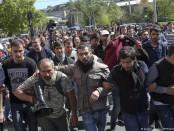 Армянские протестующие