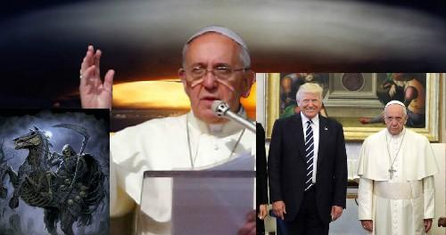 Папа Римский назвал Трампа посланником Апокалипсиса