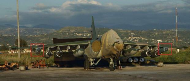 Появилось первое фото модернизированного Су-25SM3 в Сирии