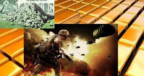Золотой запас США и доллара на мели, значит будет война
