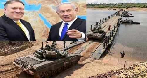 Иран и Россия тайно готовятся снова форсировать Евфрат