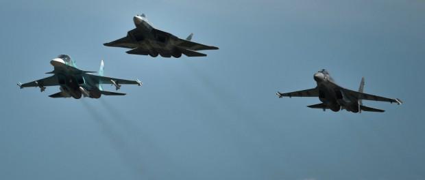 Русские истребители остановили ракетную атаку США в Сирии