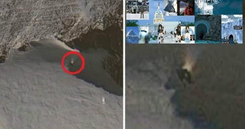 Сеть взорвал таинственный люк в Антарктиде