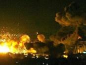Ракетный удар по иранской базе сирия